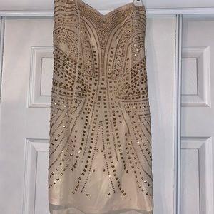 beautiful gold dress